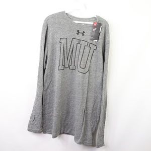 Under Armour Shirts - New Under Armour Mens Large Marquette T Shirt Gray